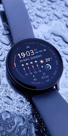 Samsung Galaxy S, Digital Watch Face, Smartwatch, Home Studio Setup, Gear S3, Weather Data, Star Trek Images, Fashion Watches, Men's Fashion