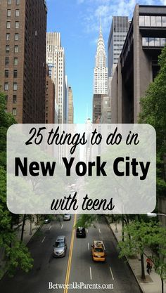Visiting New York City with teens can be a ton of fun. Here are some highlights that are sure to be a hit with them that will please all ages.