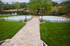 the most stunning lawns...