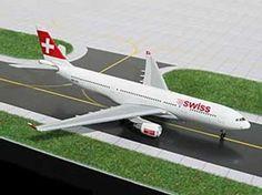 1:400 GJSWR360 GeminiJets Airbus A330 Diecast Model, Swiss International NEW #GeminiJets