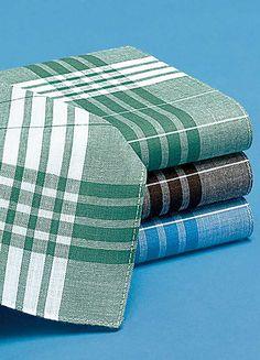 Pack of 12 Mens Handkerchiefs