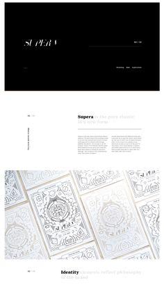 "The clean branding and web design for Supera was created by Ukraine-based designers Zhenya Rynzhuk, Bondarenko Ann and Artem Golubtsov. ""Supera is"