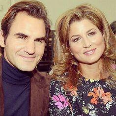 Perfect love.... Roger & Mirka Federer ~ best player