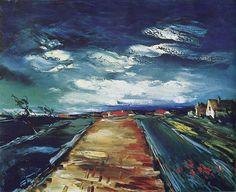 Road.  Maurice de Vlaminck