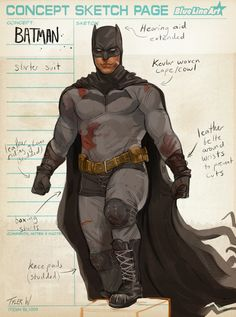 Batman Armor, Batman Suit, Batman Arkham Knight, Im Batman, Superhero Characters, Dc Comics Characters, Batman Concept Art, Batman Redesign, Detective