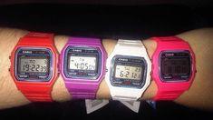 Los relojes digitales años 80