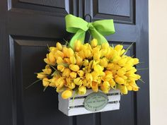 spring summer wreaths tulips wreaths for front door by aniamelisa
