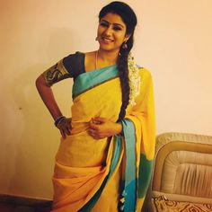 Alya Manasa is an Indian Television actress who is famous for her dubsmash videos in Tamil. She is now a lead role in Vijay TV serial . Beautiful Saree, Beautiful Bride, Famous Dancers, Beauty Full Girl, India Beauty, Latest Pics, Indian Girls, Indian Sarees, Hottest Photos