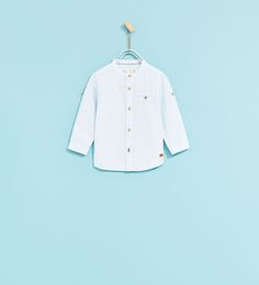 Image 1 of TEXTURED WEAVE SHIRT from Zara