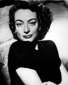 Joan Crawford in the early 1940s - During the filming of the original Mildred Pierce