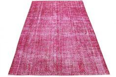 Vintage-Teppich in Pink von carpetido.de