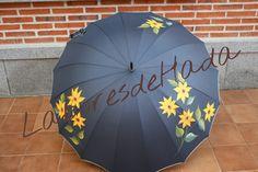 Paraguas con girasoles