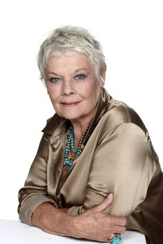 dame judi dench | Dame Judi Dench: I love watching Downton Abbey and University ...
