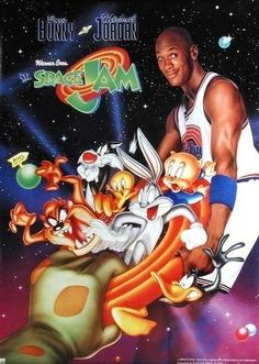 Space Jam: Special Edition (Dbl DVD) His Airness and His Hareness; what a team! Michael Jordan slams, Bugs Bunny jams and a cavalcade of Looney Tunes and NBA stars hoop it up in the rim-rattlin', out-of-this-world, roundball romp: Space Jam. Zootopia, Movies Showing, Movies And Tv Shows, Theresa Randle, The Blues Brothers, Pacific Rim, Streaming Movies, Hd Streaming, Zombieland