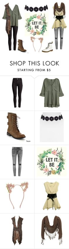 """All I want is some peace"" by darksquirrel ❤ liked on Polyvore featuring H&M, Refresh, BaubleBar, VILA, Accessorize, Jane Norman and Dr. Martens"