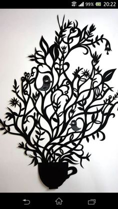 Sue codee Silhouette Art, Paper Cutting, Craft Ideas, Cool Stuff, Crafts, Home Decor, Manualidades, Handmade Crafts, Interior Design