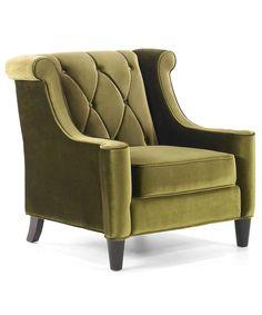 Armen Living Barrister Chair | BLUEFLY up to 70% off designer brands