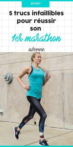 Ce qu'il faut savoir pour réussir son premier marathon. Lancez-vous dans ce défi : courir 42.195 km, oui, c'est tout à fait possible ! On vous aide... /// #aufeminin #marathon #courir #running #courseapied