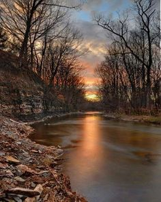 Rocky River in Valley City, Ohio