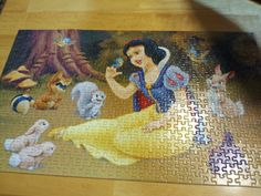 Disney puzzle I put together.