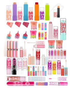 """BABY LIPS"" by ciara0509 ❤ liked on Polyvore featuring beauty and Maybelline"