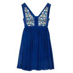 Zinc Dress Navy, $169, now featured on Fab.