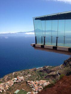 Skywalk : Mirador de Abrante, Island of Gomera, Spain (2014)   JLBM Architect