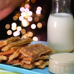 Churro Waffle Dippers Are a Tasty 5 Minute Dessert - Shared