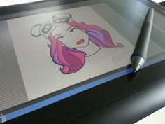 Sketch on a Wacom Cintiq Mobile Companion by Kenneth Shinabery featured on Dribbble!