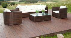 venezia sedacia suprava z umeleho ratanu modern 6 Outdoor Sectional, Sectional Sofa, Outdoor Furniture Sets, Outdoor Decor, Home Decor, Modular Couch, Decoration Home, Room Decor, Corner Sofa