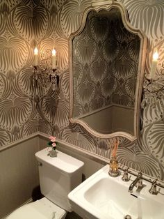 Ways with wallpaper: Farrow and Ball Lotus — The Decorista