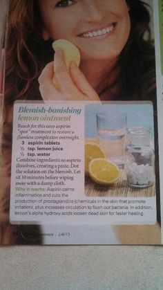 Acne remedy - actually tried this im curious to see how this actually works