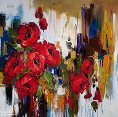 Kimberly Kiel, 'In Grand Style', 48'' x 48''   Galerie d'art - Au P'tit Bonheur - Art Gallery