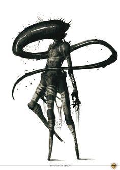 ArtStation - call of Cthulhu 2012 - Loïc Muzy Hp Lovecraft, Arte Horror, Horror Art, Fantasy Creatures, Sea Creatures, Call Of Cthulhu Rpg, Horror Monsters, Greek Monsters, Lovecraftian Horror