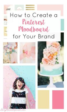 Are you stumped on your blogs brand look? Create a Pinterest Moodboard & see your brand come to life! See How to Create a Pinterest Moodboard for your brand
