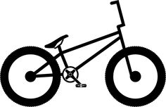 Gallery For > Bmx Bike Clipart