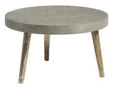 Matching dining table Fannie, Fauna features a combination of concrete top and three wooden legs. Ideal in an industrial scheme. Concrete Furniture, Mirrored Furniture, Funky Furniture, French Furniture, Contemporary Furniture, Furniture Making, Concrete Coffee Table, Handmade Table, Modern Spaces
