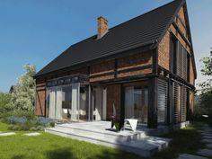 ALZACJA- NOWOŚĆ Cabin, House, Outdoor Decor, Design, Home Decor, Blue Prints, Author, Projects, Decoration Home