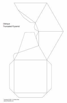 Net oblique truncated pyramid net5