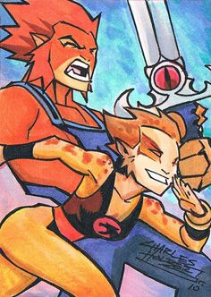 Thundercats sketch card by KidNotorious