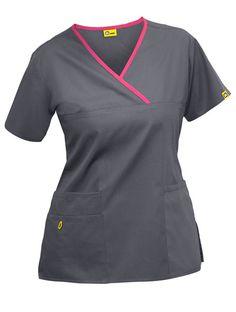 Nursing Scrubs and Lab Coats! Healthcare Uniforms, Medical Uniforms, Work Uniforms, Scrubs Outfit, Scrubs Uniform, Cute Scrubs, Womens Scrubs, Diy Couture, Medical Scrubs