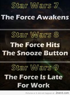Star Wars movie titles - http://2nerd.com/movies-2/star-wars-movie-titles/