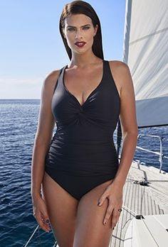 Tropiculture Black Knot Swimsuit