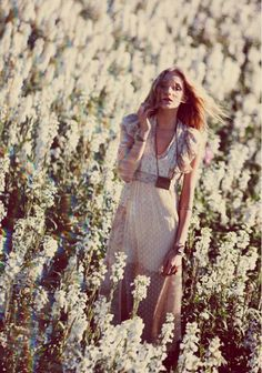 Free People FP New Romantics He Loves Me Best Dress at Free People Clothing Boutique Bohemian Girls, Bohemian Mode, Boho Gypsy, Bohemian Style, Bohemian Flowers, Bohemian Summer, Bohemian Dresses, Romantic Flowers, Hippie Style