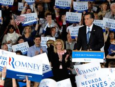 Ann Romney Photos - GOP Candidate For President Mitt Romney Holds Nevada Caucus Night Gathering - Zimbio
