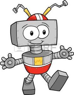 joujoux: Robot Vector Illustration