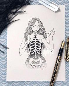 doodle art creative \ doodle art doodle art journals doodle art for beginners doodle art easy doodle art drawing doodle art creative doodle art patterns doodle art letters Easy Pencil Drawings, Dark Art Drawings, Art Drawings Sketches, Sketch Art, Cute Drawings, Tattoo Drawings, Disney Drawings, Tattoo Sketches, Tumblr Sketches