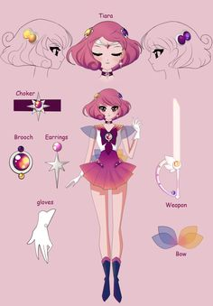 sailor Twilight reference sheet by surlaluna