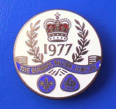 Boy Scouts/Girl Guides of Great Britain - The Queen's Silver Jubilee 1977 badge by RETRO STU, via Flickr