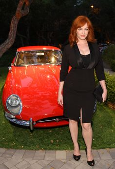 """Christina Hendricks: """"It just seemed so odd as people had never commented on my body before. Every woman obsesses over her figure, but I was happy, I felt sexy - I never thought about it. I know this sounds naive, but I honestly never expected this kind of attention."""" ~ <3"""